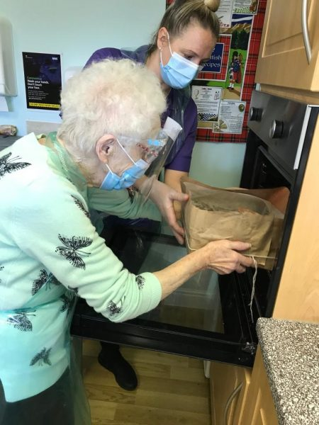 Making and baking cakes