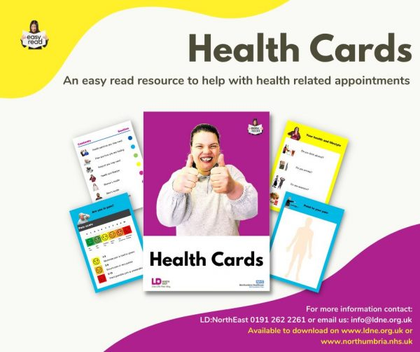 Easy Read Health Cards